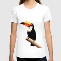 toucan T-shirts featuring Toucan by Bridget Davidson