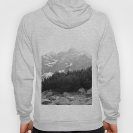 Tatry in Black and White Hoody