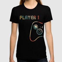 Matching Gamer Couple tee Player 1 Player 2 Shirt T-Shirt T-shirt T-shirt