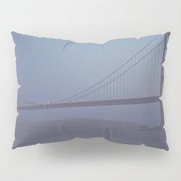Golden Gate at Nightfall  Pillow Sham