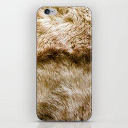 Fluffy Fur iPhone Skin