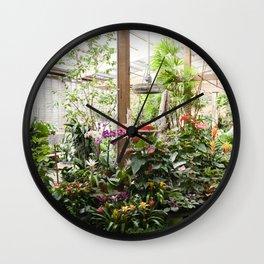 The Garden Shop Wall Clock