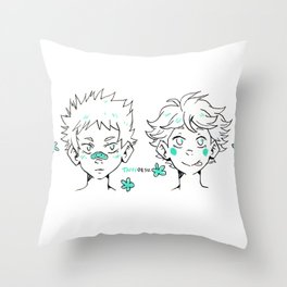 Smol Iwaoi  Throw Pillow