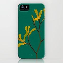 Flower No. 4: Kangaroo Paw iPhone Case