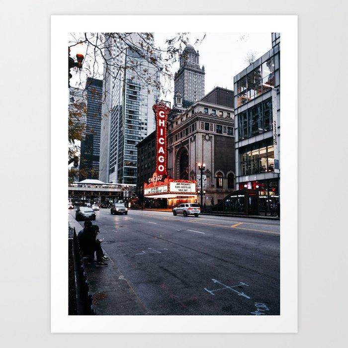 Chicago Theater Kunstdrucke