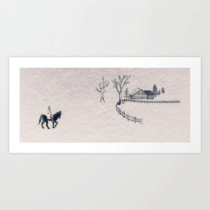 Varykino Art Print