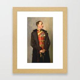 John Singer Sargent 1856–1925   Colonel Ian Hamilton, CB, DSO Framed Art Print