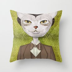 Mr. Jones Throw Pillow