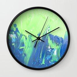 Blue & Green, No. 2 Wall Clock