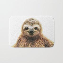 Young Sloth Bath Mat