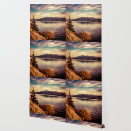 Serenity Lake Wallpaper