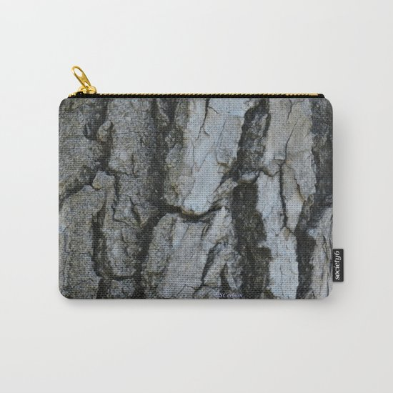 TEXTURES -- Fremont Cottonwood Bark Carry-All Pouch