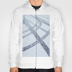 Tracks in the Snow Hoody