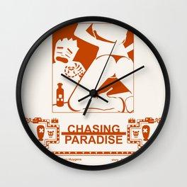 CHASING PARADISE CH1 Wall Clock