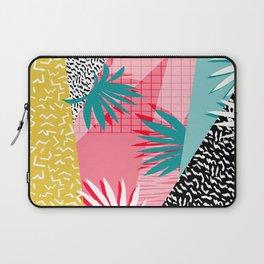 Bingo - throwback retro memphis neon tropical socal desert festival trendy hipster pattern pop art Laptop Sleeve