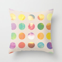 Pop Renaissance Throw Pillow