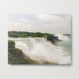 Niagra Falls Waterfall Metal Print