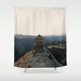 Fremont Lookout- Washington, USA Shower Curtain