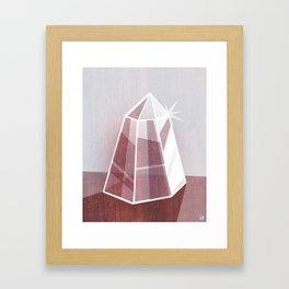 Little Quartz Framed Art Print