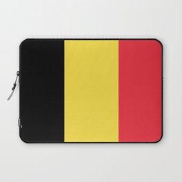 Flag of Belgium Black Yellow Red Laptop Sleeve