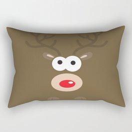 Minimal Reindeer  Rectangular Pillow