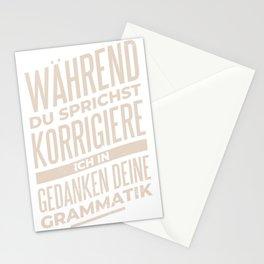 Grammatik Stationery Cards
