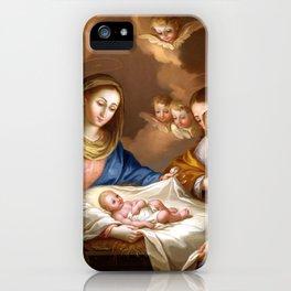 José Campeche y Jordán La Natividad iPhone Case