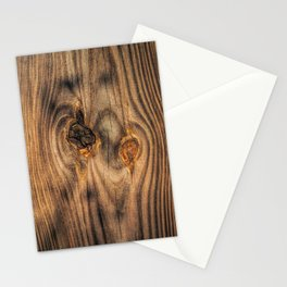Wood Knots Stationery Cards