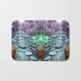 Frequency Illusion Bath Mat