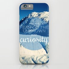 Replace Fear of the Unknown With Curiosity iPhone 6 Slim Case
