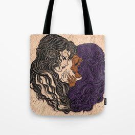 Diverse Female Love Tote Bag