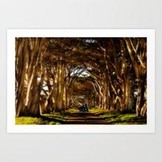 Forest Vader Art Print