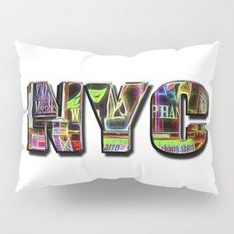 NYC (typography) Pillow Sham