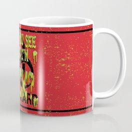 Snotty Biohazard Coffee Mug