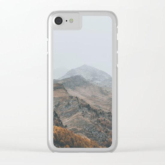 Switzerland X Clear iPhone Case