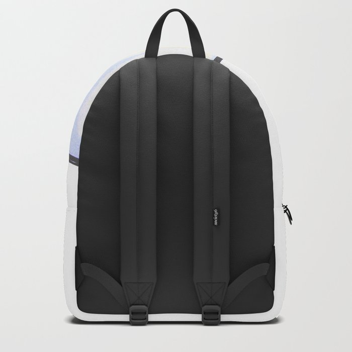 simple London on white background Backpack