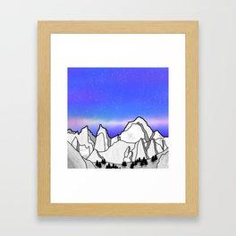 Mount Whitney Framed Art Print