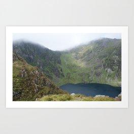 Wales Landscape 21 Cader Idris Mountain Lake Art Print