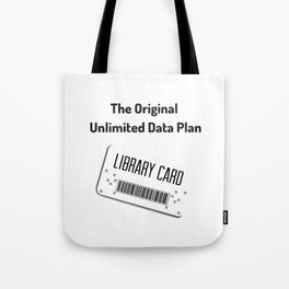 Original Data Plan Tote Bag