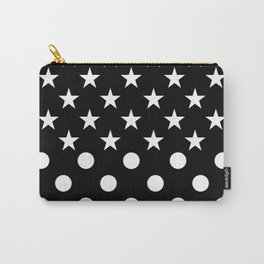 DORM (BLACK-WHITE) Carry-All Pouch