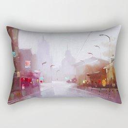 Morning city Rectangular Pillow