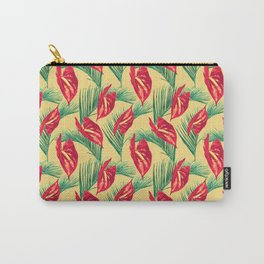 Pop Tropical Leaves Seamless Pattern Series 3 Carry-All Pouch