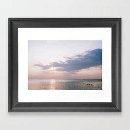 Phuket Island Sunset Framed Art Print