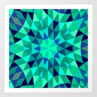 teal Art Prints featuring teal. by 2sweet4words Designs