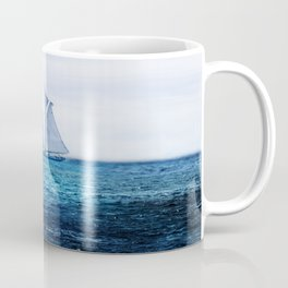 Sailing Ship on the Sea Kaffeebecher