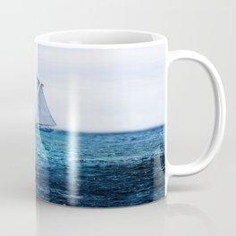 Sailing Ship on the Sea Coffee Mug