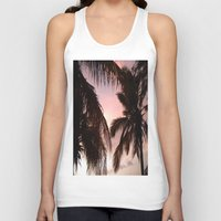 palm trees Tank Tops featuring palm trees by NatalieBoBatalie