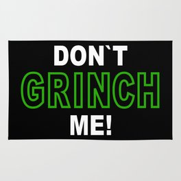 Holiday-Spirit: Do NotGrinch Me! Rug