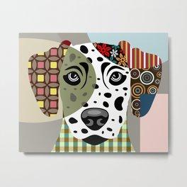 Dalmatian Dog Metal Print