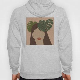 Terracotta Women I #monstera Hoody